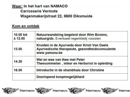 OPENDEUR NAMACO